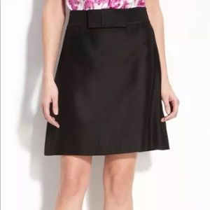 Kate Spade Delora Bow Front Lined Skirt